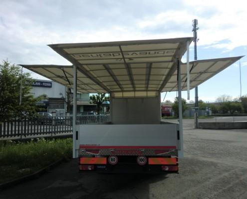Eurocargo centinatura regolabile, trasporto bevande