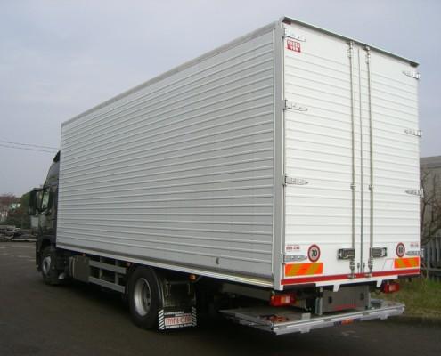 Volvo - furgone alluminio