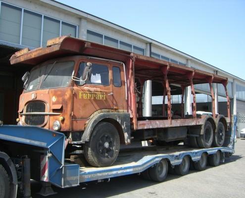 Fiat 643 - restauro mezzi d'epoca