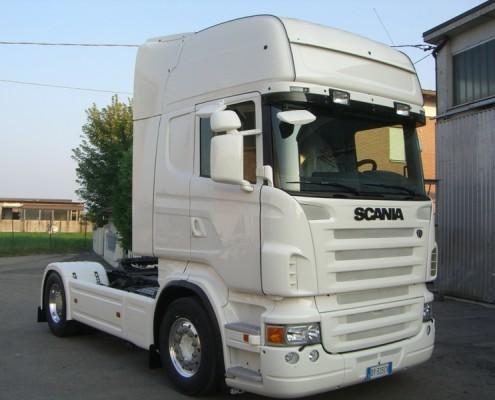 Scania - verniciatura integrale cabina