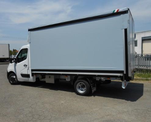 Opel - cassone centinato, copri scopri, porte posteriori