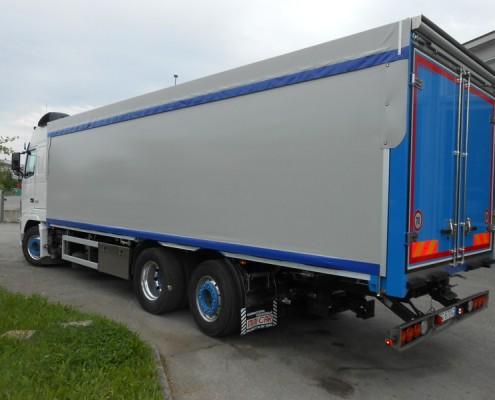Volvo - centinatura idraulica,porta posteriore, arrotolatore posteriore